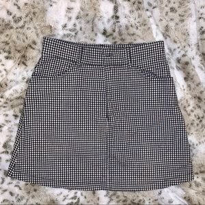 John Galt/Brandy Gingham Mini Skirt- ONE SIZE